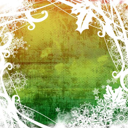 Christmas abstract Background frame Stock Photo - 2092884