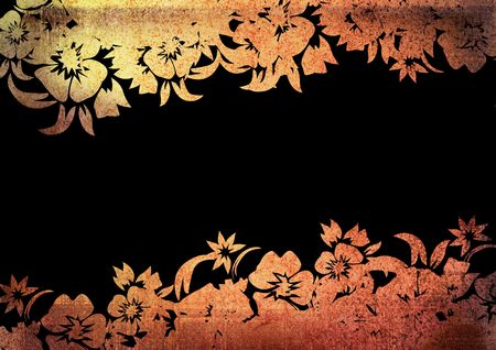 floral style backgrounds frame photo