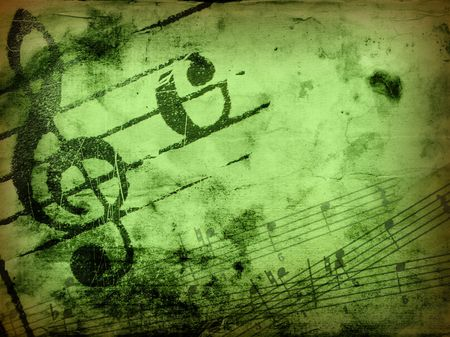 music grunge backgrounds - perfect background with space for text or image Stock Photo - 3069013