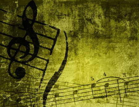 music grunge backgrounds - perfect background with space for text or image Stock Photo - 3081360