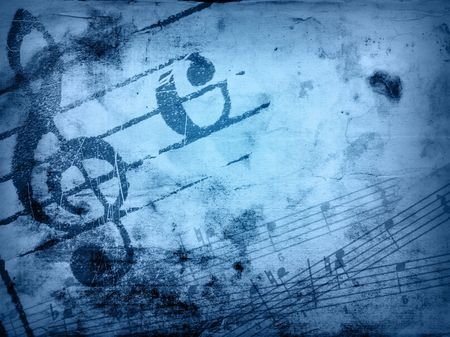 music grunge backgrounds - perfect background with space for text or image Stock Photo - 3077254