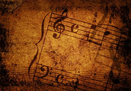 music grunge backgrounds - perfect background with space for text or image Stock Photo - 3117064