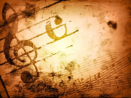 music grunge backgrounds - perfect background with space for text or image Stock Photo - 3133936