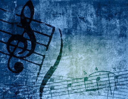 music grunge backgrounds - perfect background with space for text or image Stock Photo - 3128506