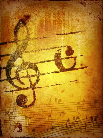 music grunge backgrounds - perfect background with space for text or image Stock Photo - 3128503