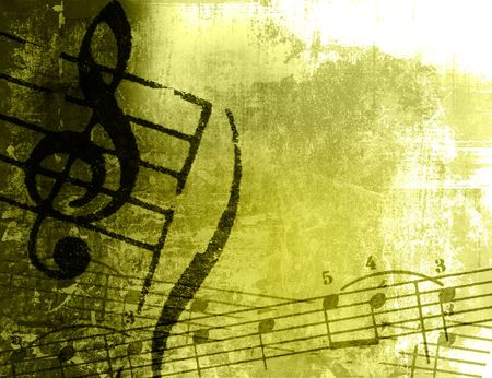 music grunge backgrounds - perfect background with space for text or image Stock Photo - 3147624