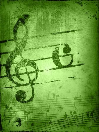 music grunge backgrounds - perfect background with space for text or image Stock Photo - 3147622