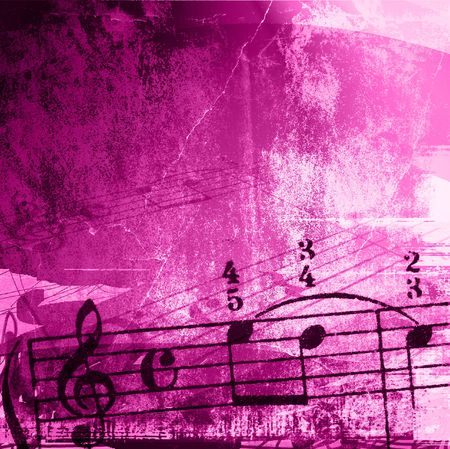 music grunge backgrounds - perfect background with space for text or image Stock Photo - 3147623
