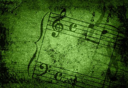 music grunge backgrounds - perfect background with space for text or image Stock Photo - 3187538