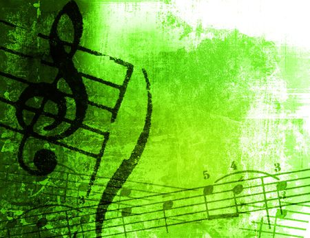 music grunge backgrounds - perfect background with space for text or image Stock Photo - 3221050