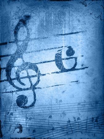 music grunge backgrounds - perfect background with space for text or image Stock Photo - 3208040
