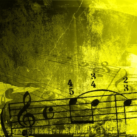 music grunge backgrounds - perfect background with space for text or image Stock Photo - 3208041
