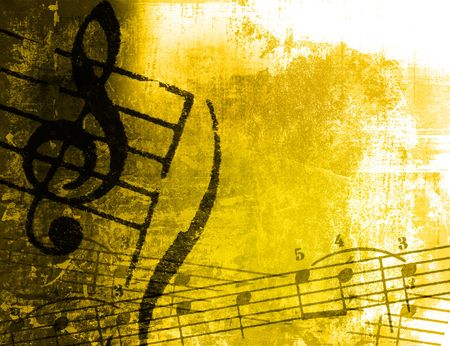 music grunge backgrounds - perfect background with space for text or image Stock Photo - 3241910