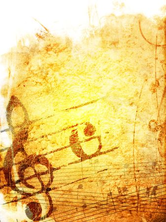 music grunge backgrounds - perfect background with space for text or image Stock Photo - 3395049