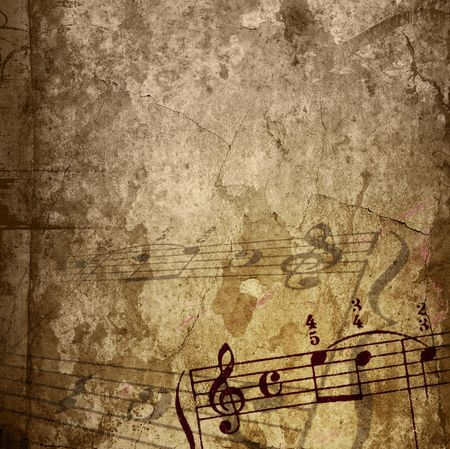 creases: music grunge backgrounds - perfect background with space for text or image