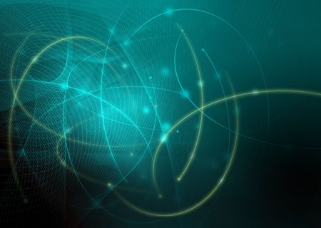 energy grid: abstract galaxy waves background texture