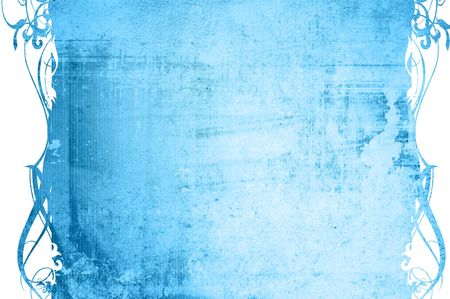 highly Detailed textured grunge background frame Stock Photo - 10816684