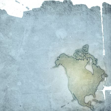 aged America map-grunge artwork Stock Photo - 3750726