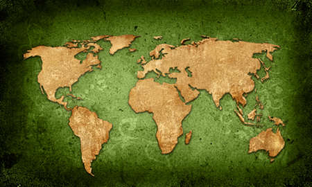 continental united states: world map textures and backgrounds Stock Photo