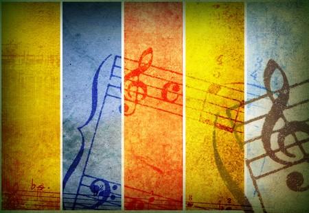 abstract music: muziek grunge achtergronden - perfecte achtergrond met ruimte voor de tekst of afbeelding