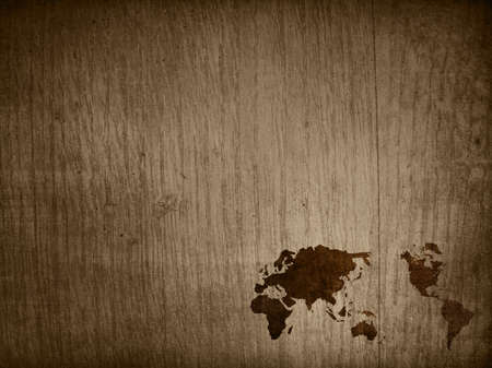 world map vintage artwork photo