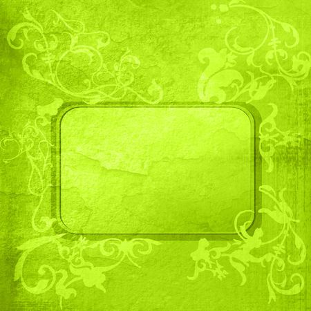 floral style textures and backgrounds frame Stock Photo - 6311307