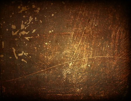 Brown grungy wall - Great textures for your design Stock Photo - 6455025