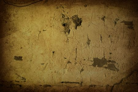 Brown grungy wall - Great textures for your design Stock Photo - 6455036