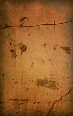 Brown grungy wall - Great textures for your design Stock Photo - 6455034