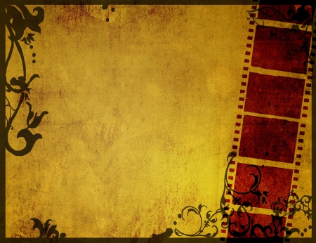 grunge film strip effect backgrounds frame