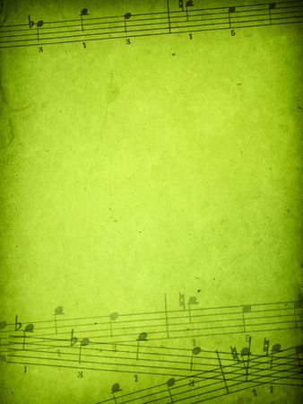 music sheet: music grunge backgrounds  Stock Photo