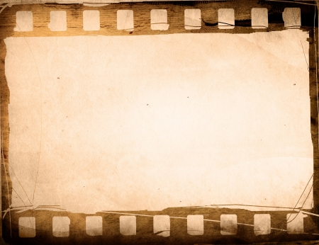 grunge film strip effect backgrounds frame Stock Photo - 6489475