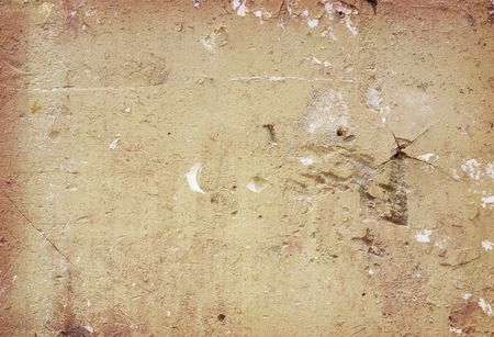 Brown grungy wall - Great textures for your design Stock Photo - 6552914