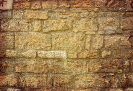 Brown grungy wall - Great textures for your design  Stock Photo - 6768957