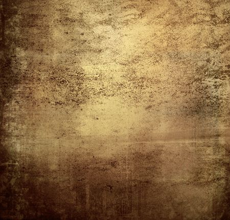 Brown grungy wall - Great textures for your design Stock fotó - 9795924