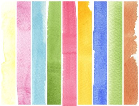 colorful watercolor background for your design photo