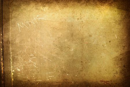 Brown grungy wall - Great textures for your design Stock Photo - 6652783