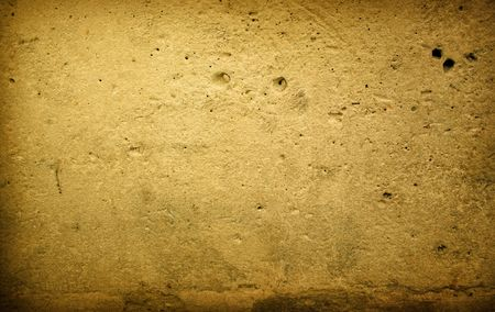 Brown grungy wall - Great textures for your design  Stock Photo - 6652817