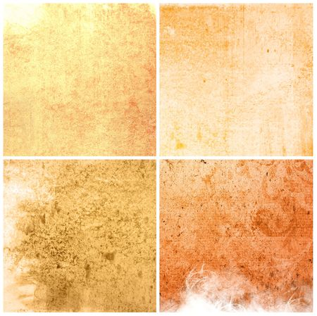 background in grunge style - containing different textures  photo