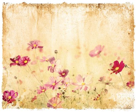 floral style textures with space for text or image photo