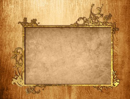 floral style textures and backgrounds frame-with space for your design Stock Photo - 6860826