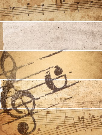 Abstract grunge melody textures and backgrounds - perfect background with space for text or image photo