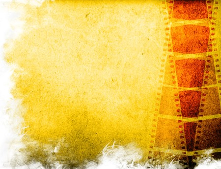 photographic film: Great film strip for textures and backgrounds frame -with space for your text and image