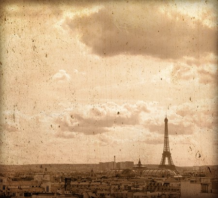 beautiful Parisian streets - with space for text or image Stock Photo - 7399460