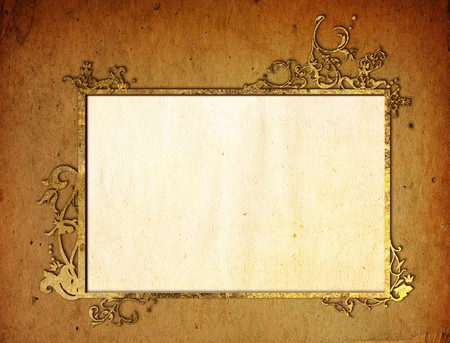 floral style textures and backgrounds frame-with space for your design Stock Photo - 7569028