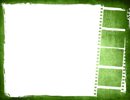 film negative: Great film strip for textures and backgrounds Stock Photo
