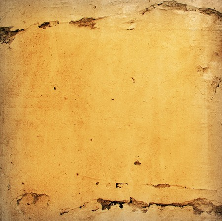 Brown grungy wall - Great textures for your design  Stock Photo - 7895277