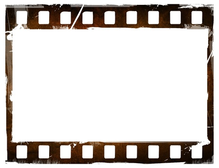 cinema strip: Great film strip for textures and backgrounds frame  Stock Photo