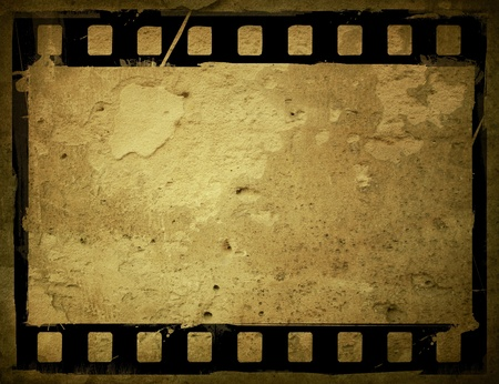 Great film strip for textures and backgrounds frame  Stock Photo