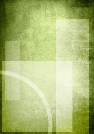 portada del libro verde de fondos con espacio para el nombre Foto de archivo